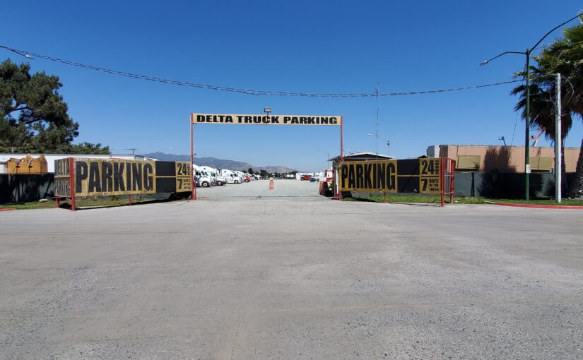 parking in otay mesa near cbx bridge and otay mesa border crossing with free shuttle service